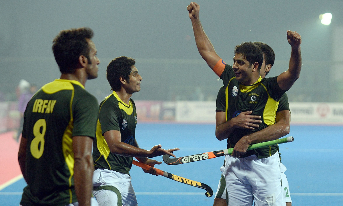 Pakistan Hockey Team Celebrations