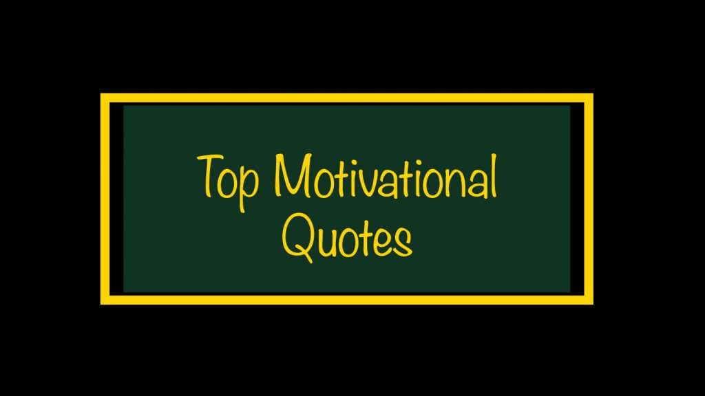 Top Motivational Quotes Jawadabid.com
